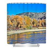 Fall On The Snake River Shower Curtain