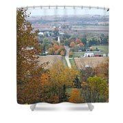 Fall Overlook Shower Curtain
