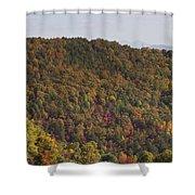 Fall Palette Shower Curtain