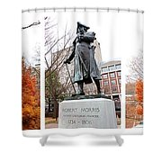 Fall Patriot Shower Curtain