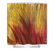 Fall Prairie Grass By Jrr Shower Curtain by First Star Art