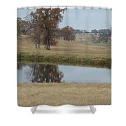Fall Reflection Shower Curtain