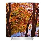 Fall River Nova Scotia Shower Curtain