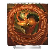 Fall Round Up Shower Curtain