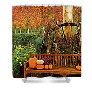 Fall Serenity Shower Curtain