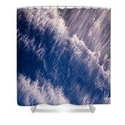 Fall Streak Clouds 5 Shower Curtain