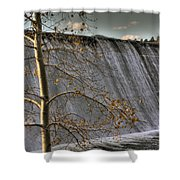 Fall Time Waterfall Shower Curtain