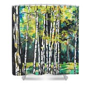 Fall To Pieces Shower Curtain