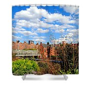 Fall Walk On The High Line Shower Curtain