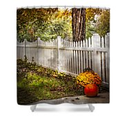 Fall Welcome Shower Curtain