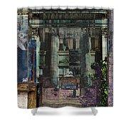 Fallen Empire Shower Curtain