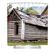 Fallen Homestead Shower Curtain
