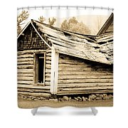 Fallen Homestead II Shower Curtain