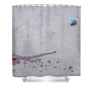 Fallen Treat Shower Curtain