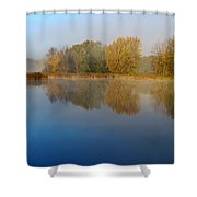 Falling For Reflections... Shower Curtain