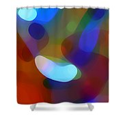 Falling Light Shower Curtain