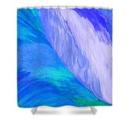 Falling Water By Jrr Shower Curtain