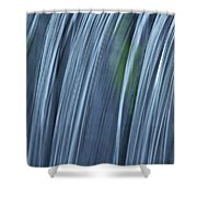 Falling Water Up Close Shower Curtain