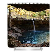 Falling Water View Shower Curtain