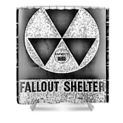 Fallout Shelter Wall 10 Shower Curtain