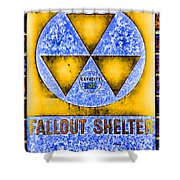 Fallout Shelter Wall 3 Shower Curtain