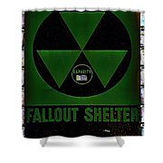 Fallout Shelter Wall 4 Shower Curtain