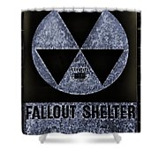 Fallout Shelter Wall 5 Shower Curtain