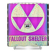 Fallout Shelter Wall 6 Shower Curtain