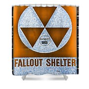 Fallout Shelter Wall 8 Shower Curtain