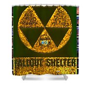 Fallout Shelter Wall 9 Shower Curtain