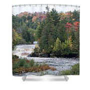 Falls And Color Shower Curtain