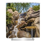 Falls At Jackalope Ranch Shower Curtain