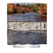 Falls Color Shower Curtain