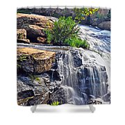 Falls Of Reedy River Shower Curtain
