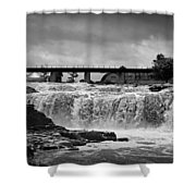 Falls Of The Big Sioux Shower Curtain