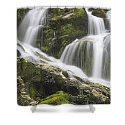 Falls On Sauk River Washington Shower Curtain