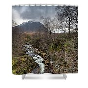 Falls On The River Coupall Shower Curtain