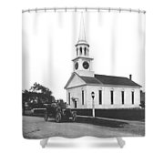 Falmouth Church In Hyannis Shower Curtain