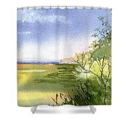 Falmouth View Shower Curtain