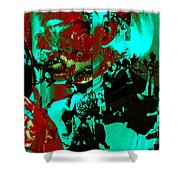 Famed For Its Groundbreaking Parties Shower Curtain