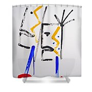 Familiar Pattern Shower Curtain