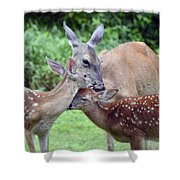 Family Hug Shower Curtain