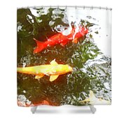 Family Members 7 Shower Curtain