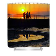 Family Moment Shower Curtain