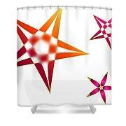 Family Of Stars Shower Curtain