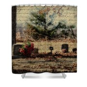 Family Plot Orton Style Shower Curtain