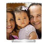 Family Portrait Shower Curtain