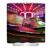 Family Waltze Shower Curtain