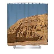 Famous Egyptian Landmarks Shower Curtain