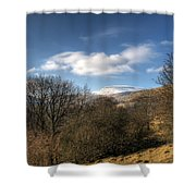 Fan Fawr Brecon Beacons 2 Shower Curtain